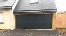 porte de garage sectionnelle motoris 233 e grande largeur