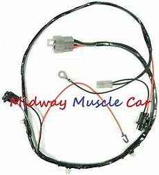 Rear Floor Console Wiring Harness Early 1964 64 Pontiac