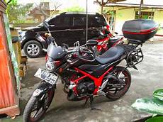 Cb150r Modif Touring by Cb150r Modifikasi Touring Thecitycyclist
