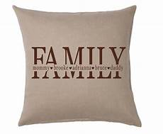 personalized pillow cover family pillow cover personalized family pillow cover family and