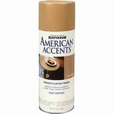 shop rust oleum 12 oz soft wheat satin spray paint at lowes com