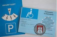 parkausweis für behinderte unbefristet parkerleichterungen und sonderparkausweis f 252 r