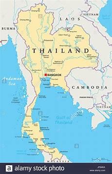 Thailand Bangkok Map Atlas Map Of The World Travel
