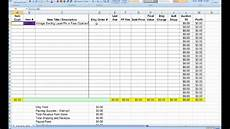 etsy inventory profit and loss excel worksheets how to use youtube