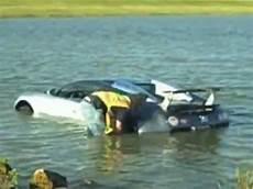 Bugatti Crash Into Water by Bugatti Veyron Crash