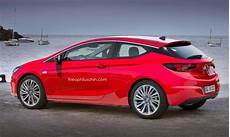 Opel Astra Gtc 2017 - 2015 opel astra k imagined in sportier three door gtc