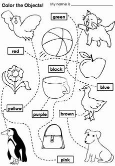colors worksheets esl 12689 colours learning