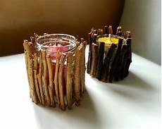 bougeoir fait maison 8 easy diy wood candle holders for some rustic warmth this