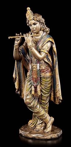 Krishna Figur Indischer Gott Buddha Hindu Deko Ebay