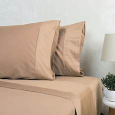1000tc american pima cotton sateen plain sheet innovations