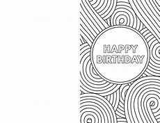card templates coloring free printable birthday cards paper trail design