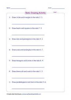 shapes ratios worksheet 1253 ratio worksheets