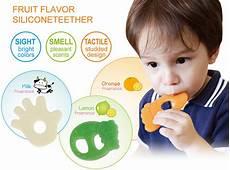 simba food grade silicone teether orange fragrance just4bb com
