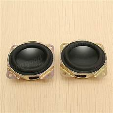2pcs Black Passive Radiator Loudspeaker Auxiliary by 2pcs Black Passive Radiator Loudspeaker Auxiliary Bass