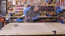 fabriquer une porte en bois massif tuto brico avec