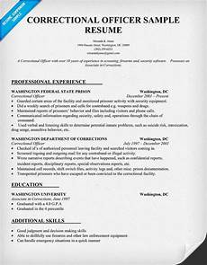 correctional officer resume sle law resumecompanion com resume sles across all