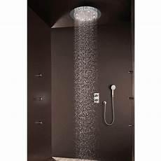 doccione doccia bossini soffione doccia tondo moderno a un getto con led