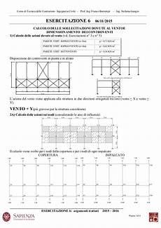 dispense di tecnica delle costruzioni tecnica delle costruzioni esercitazione 6