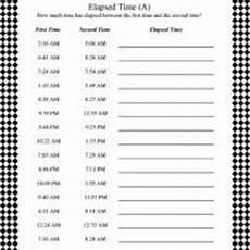 time worksheet calculator 2948 calculating elapsed time worksheet