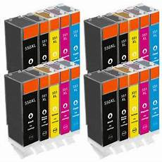 20 ink cartridges for canon pixma ip7250 ix6850 mg5550