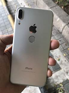 apple iphone 8 design look at silver color model