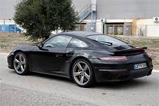 Spyshots 2015 Porsche 911 Turbo Getting Facelift