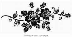 flower stencil images stock photos vectors