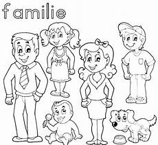 Ausmalbilder Osterhasen Familie Familie Zum Ausdrucken Wenn Du Mal Buch Familie