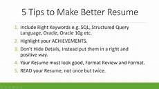 why programmers should take their cv seriously 5 tips to
