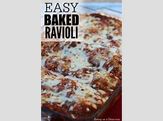 baked beef and ravioli_image