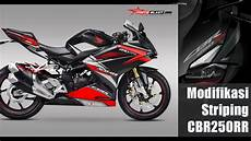 Striping R Modif by Modifikasi Striping Honda Cbr250rr By Motoblast
