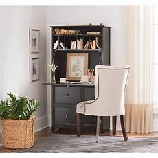 black home office furniture collections home decorators collection 32 in black rectangular 2