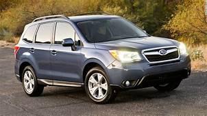 Small SUV  Subaru Forester Non Turbo Consumer Reports