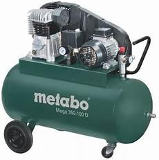metabo kompressor mega 350 100 d 400v 90 liter 10 bar
