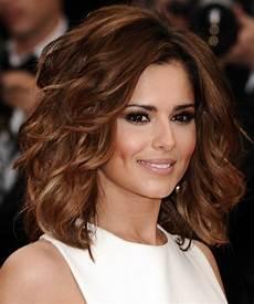 Cheryl Cole New Hairstyle cheryl cole medium wavy formal hairstyle auburn
