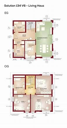 grundrisse einfamilienhaus mit satteldach 4 zimmer 134