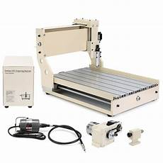 new cnc router engraver milling machine engraving drilling 4 axis 3040c desktop ebay