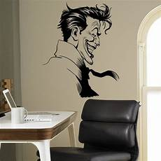 Vinyl Home Decor Ideas by Joker Supervillain Wall Vinyl Decal Batman Sticker