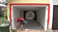garage streichen garage streichen 3 stunden in 3 minuten michel zeigt