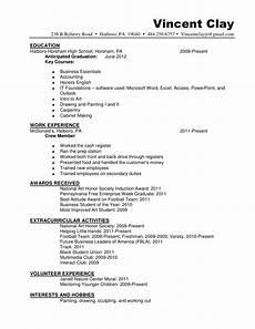 vincent resume