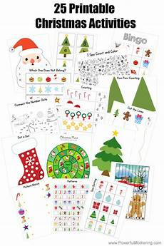 25 printable christmas activities for preschoolers and