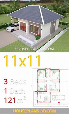simple sims 3 house plans simple house design plans 11x11 with 3 bedrooms full plans