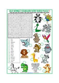 animal worksheets for toddlers 14272 animals esl printable vocabulary worksheets