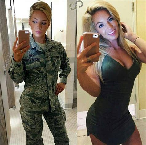 Nude Army Women