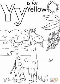 letter y coloring worksheets 24597 letter y is for yellow coloring page free printable coloring pages with images preschool