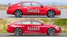 hyundai accord 2020 2020 hyundai sonata vs honda accord