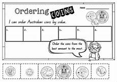 money worksheets ordering 2265 australian money pack worksheets australian money money worksheets early years maths