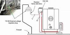 67 72 chevy truck wiring diagram with one wire alternator