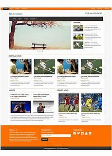 free responsive magazine html templates behance