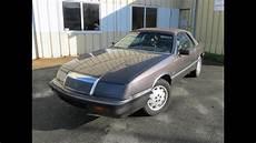 chrysler le baron cabriolet 1989